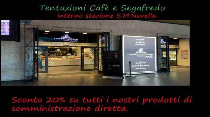 Tentazioni Cafè & Segafredo sconto del 20%