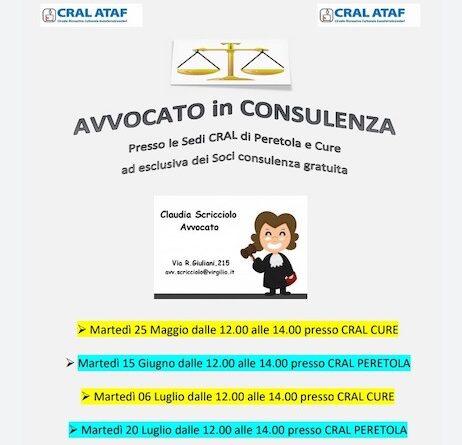 Avvocato in Consulenza per i soci…